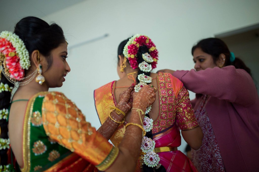 telugu bride_amar ramesh_bride_getting ready