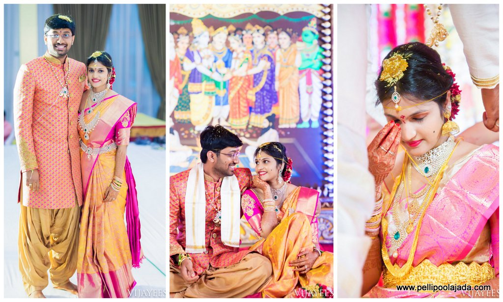 Telugu bride _wedding story _pellipoolajada