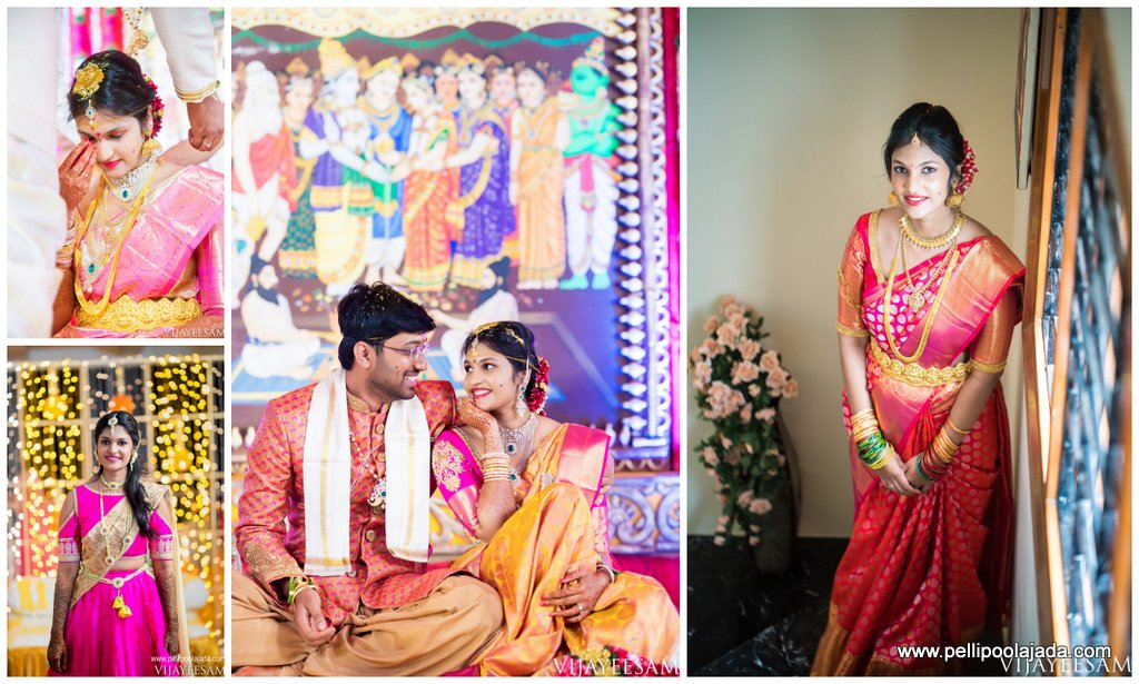 Telugu bride_wedding story_pellipoolajada