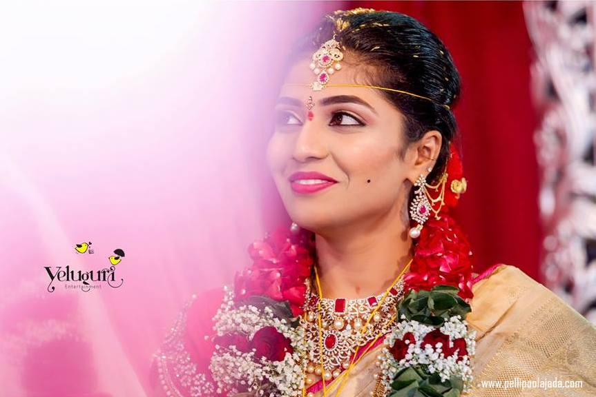 Telugu wedding in USA_pellipoolajada3