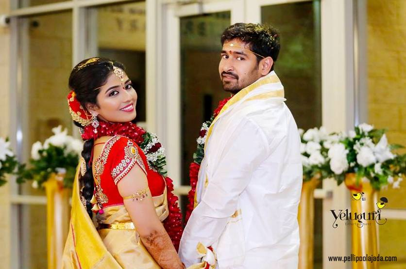 Telugu wedding in USA_pellipoolajada6