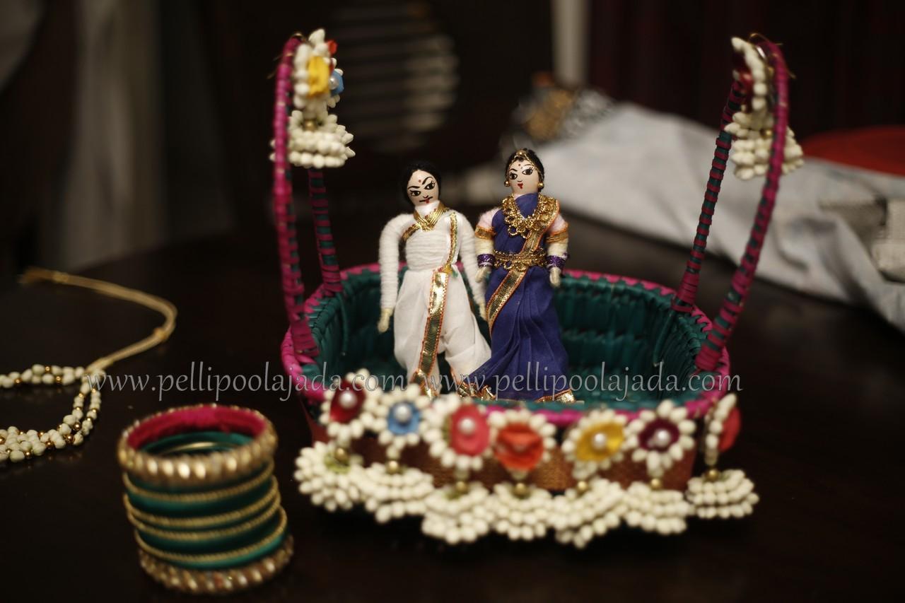 Jhumkas-Flower Jewellery