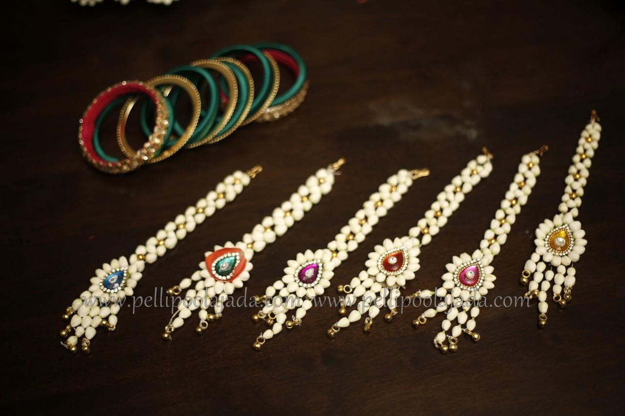 Mangtikka_flower jewellery