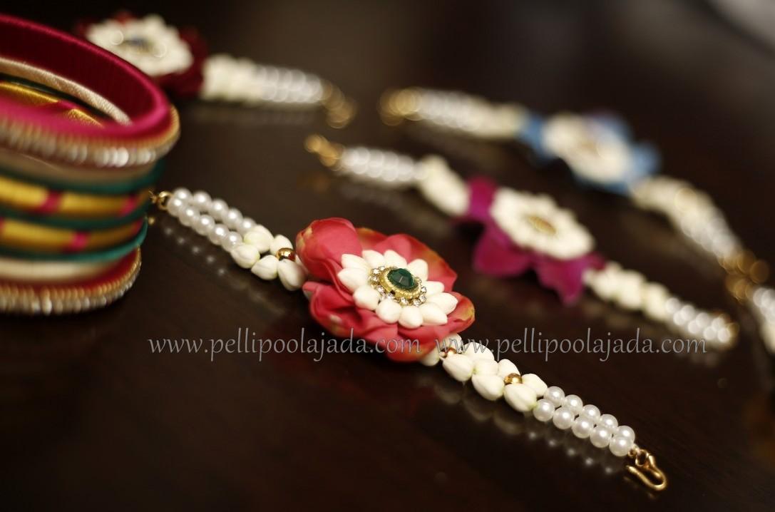 bracelets_flower jewellery