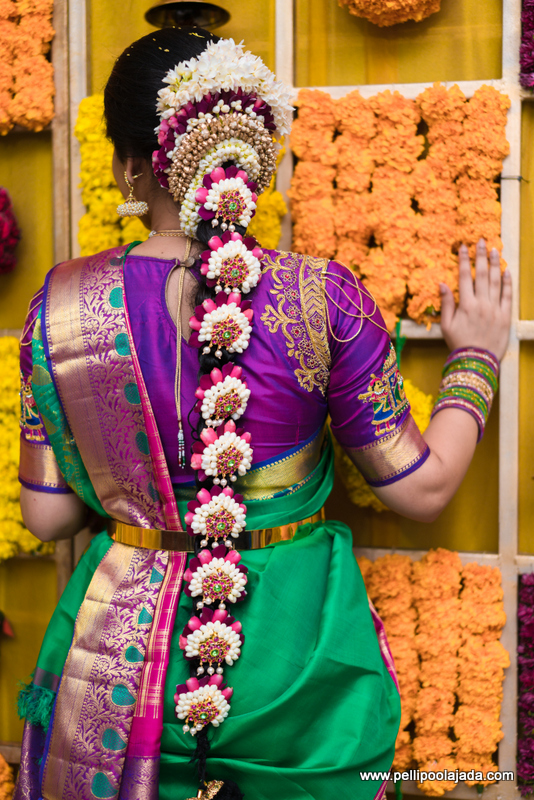 Pellipoolajada Real bride Sadhana Wedding story