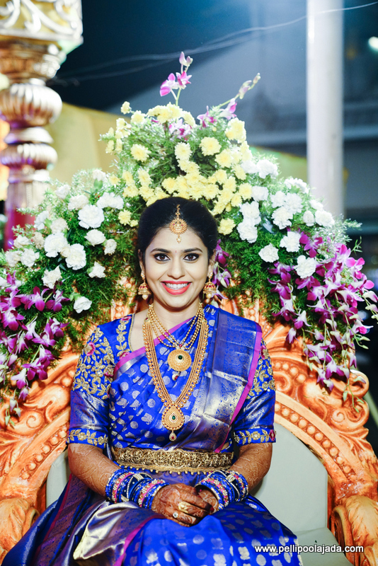 Bride in Pallaki