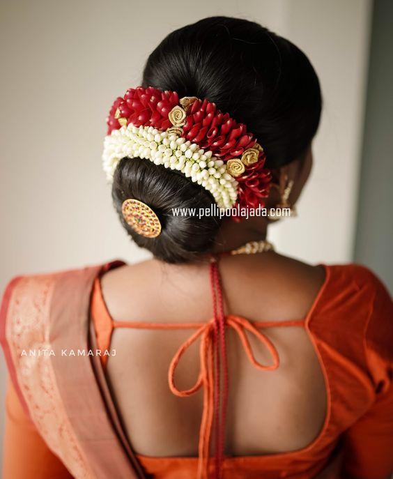 Time To Try The Most Chic Hair Bun Designs This Wedding Season Pelli Poola Jada