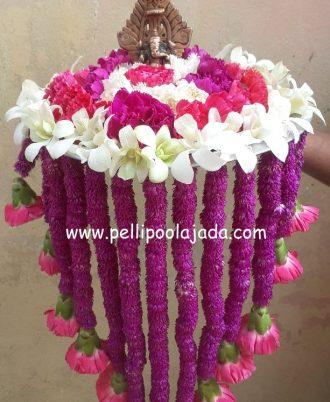 Pellipoolajada_AarthiPlates_Kanchipuram