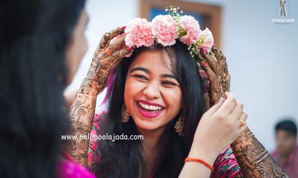 Pellipoolajada_FlowerJewellery_Tirupati